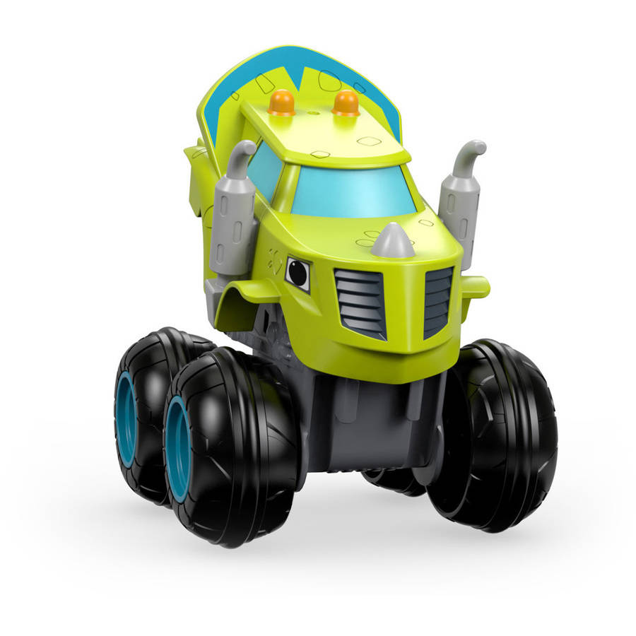 Nickelodeon Blaze and the Monster Machines Slam & Go Zeg Truck by FISHER PRICE
