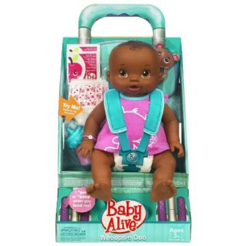 Hasbro Baby Alive Whoopsie Doo - AFRICAN AMERICAN