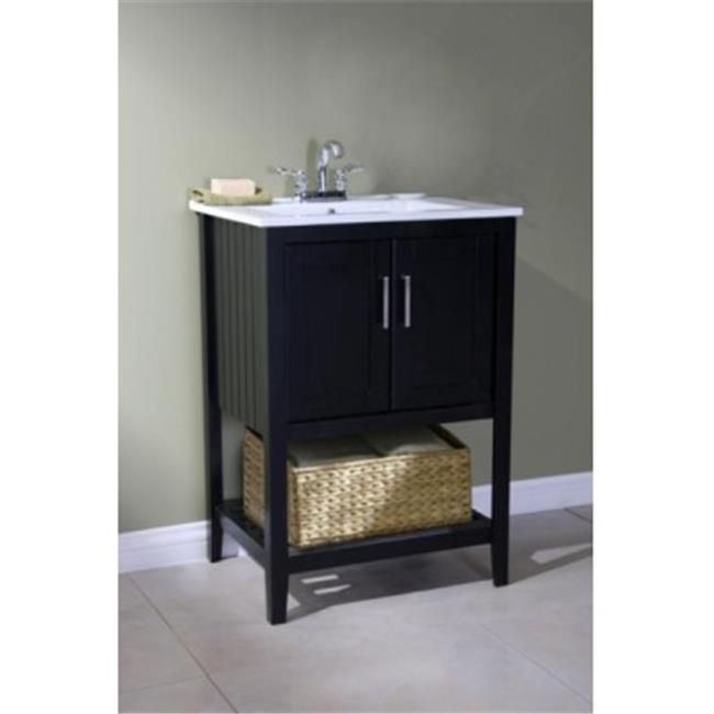 Legion Furniture WLF6020-E 24 in. SINK VANITY WITHOUT FAUCET