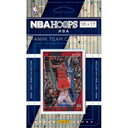 Chicago Bulls 2016 2017 Hoops Basketball NBA Licensed Factory Sealed 11 Card Team Set with Dwyane Wade Plus