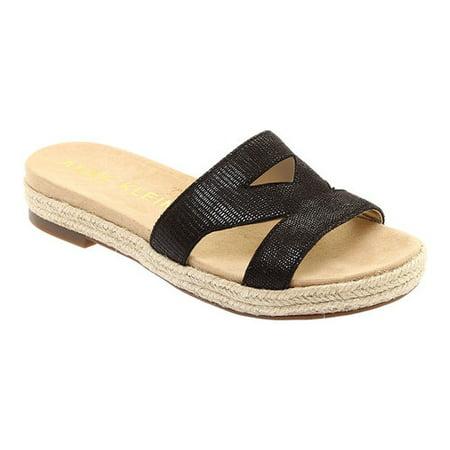 - Doris Leather Braided Slide Sandals