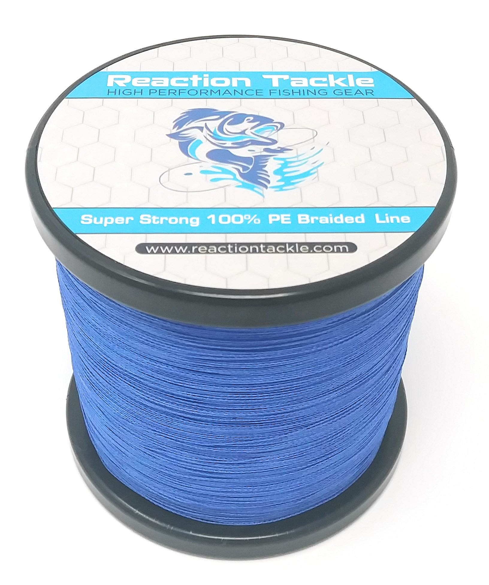 Reaction Tackle Braided Fishing Line (Various Colors) by Reaction Tackle