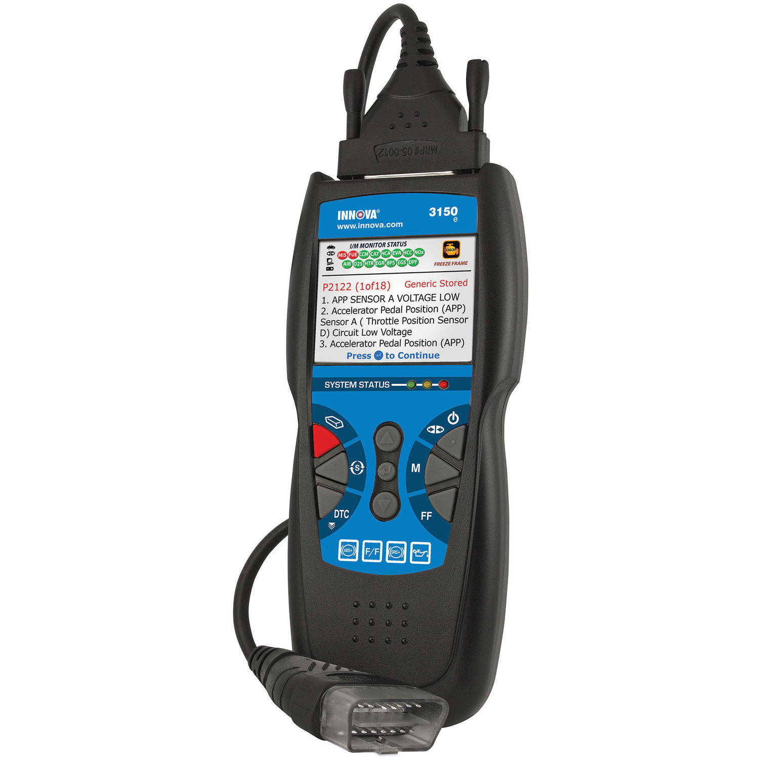 Innova 3150 CanOBD2 Diagnostic Tool with ABS