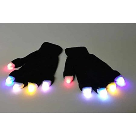 Led Fingertip Light Up Gloves