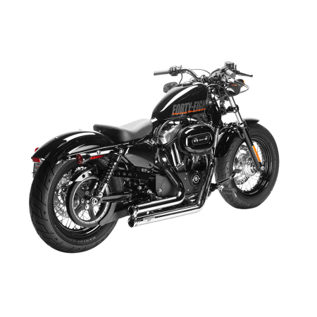 Sportster Exhausts - MAGNAFLOW - 7212701 - Sportster Lowdown Full System Exhaust Chrome/CHR XL 04-17