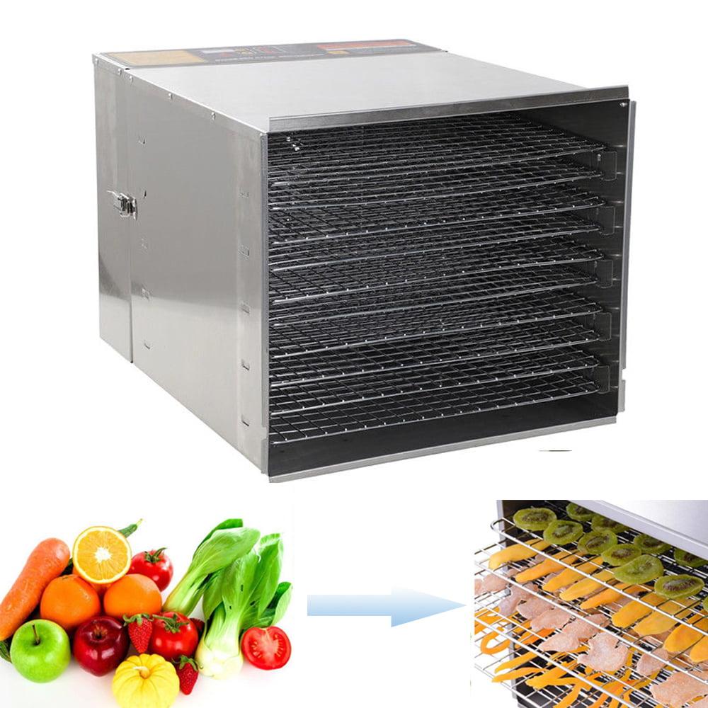 Zimtown 1000W 120V 10 Tiers Stainless Steel Food Dehydrator Digital Food Dryer