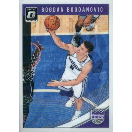 - 2018-19 Donruss Optic #61 Bogdan Bogdanovic Sacramento Kings Basketball Card