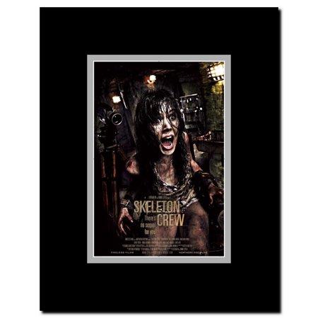 Skeleton Crew Framed Movie Poster Crewing Pop Art