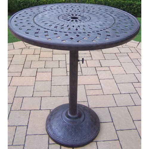 Oakland Living Belmont 36 in. Round Bar Table