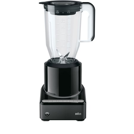 (Braun PureMix Power Countertop Blender with 56 oz. BPA-free Plastic Blending Pitcher in Black)