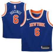 Kristaps Porzingis New York Knicks Nike Preschool Replica Jersey Blue - Icon Edition