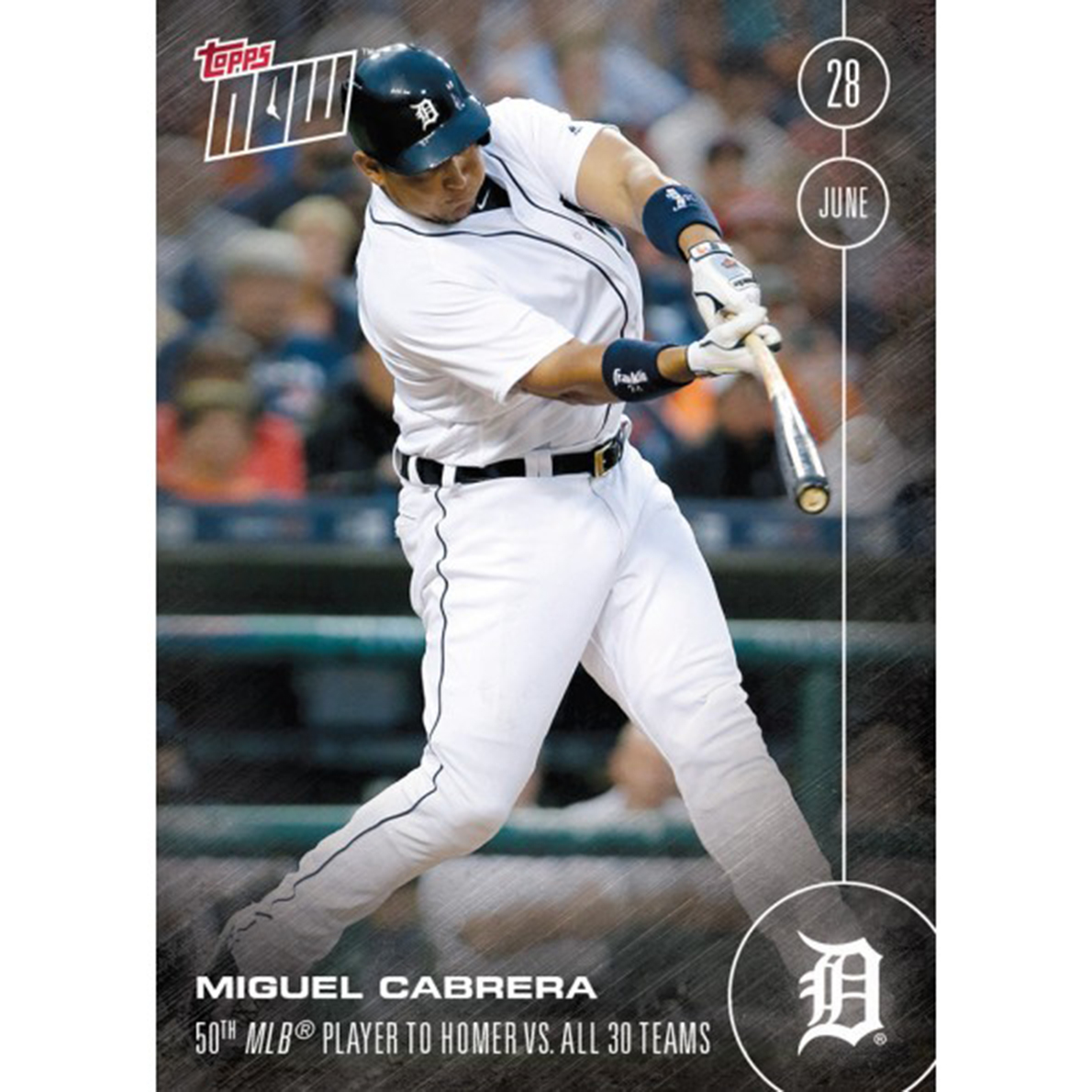 MLB 2016 Topps NOW Card 189 Detroit Tigers Miguel Cabrera Trading Card