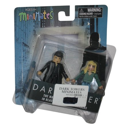 Minimates Art Asylum (The Dark Tower The Man In Black & Laurie Chambers MiniMates Figure Set)
