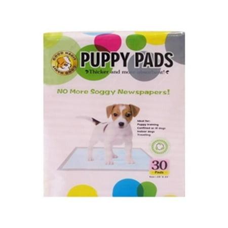 Best Pet Supplies VPP-301 Value pack Pink puppy pads - 30 pcs