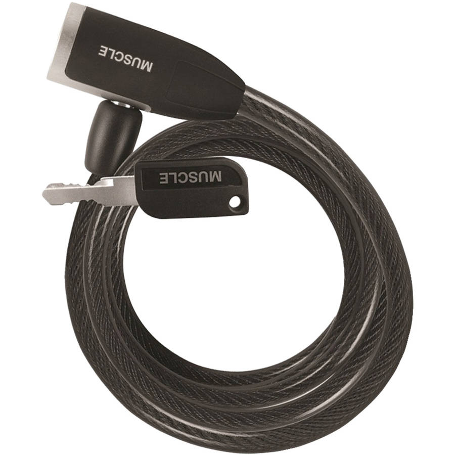 Wordlock CL-593-BK Matchkey Bike Lock
