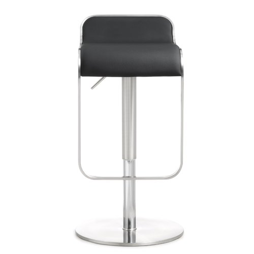 Orren Ellis Serenity Adjustable Height Swivel Bar Stool
