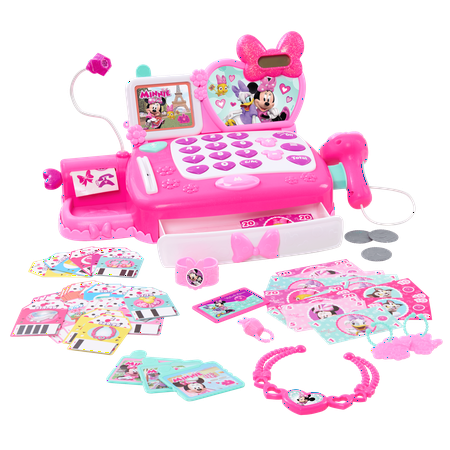 Minnie's Happy Helpers Shop N' Scan Talking Cash Register (Easy Cash Register)