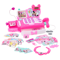 Minnie's Happy Helpers Shop N' Scan Talking Cash Register