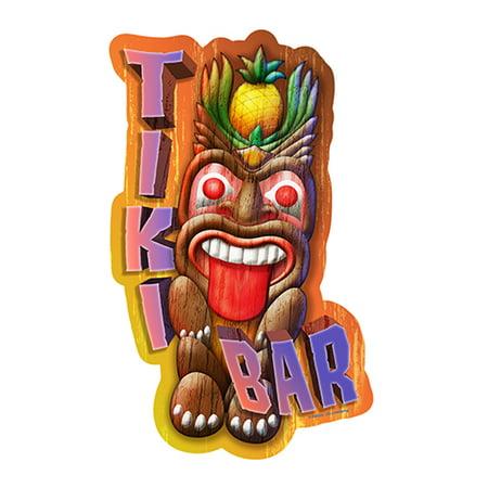 Tiki Bar Tiki Head [3 Pack] of Vinyl Decal Stickers | 5