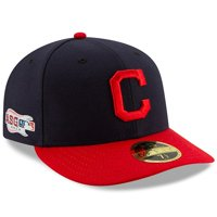Cleveland Indians New Era 2019 All Star Game Authentic Collection On Field Low profile 59 FIFTY Fitted Hat - Navy/Red