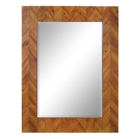 Varaluz  Casa Deco Reclaimed Wood Rectangular Mirror