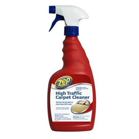 Zep Commercial High Traffic Carpet Cleaner 32 Oz