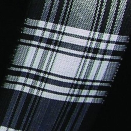 Black and White Summer Plaid Wired Craft Ribbon 1.5