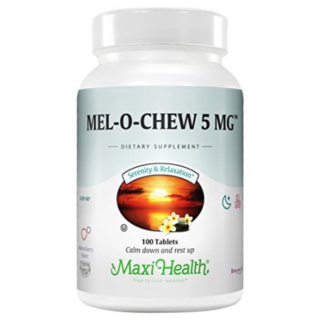 Max Health Mel-O-Chew Tablets, 200 Ct