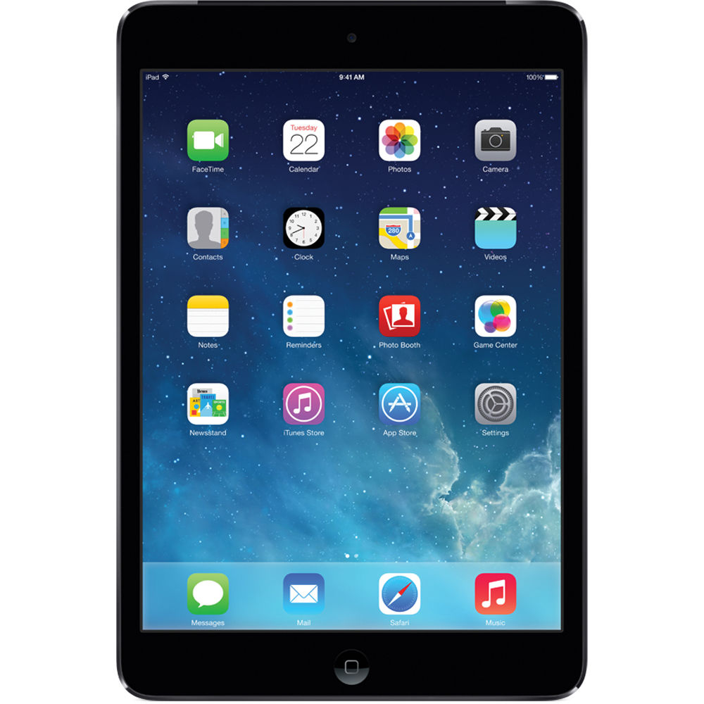 Apple iPad Mini 2 1.30GHz Dual-Core 32GB Wi-Fi iOS7 Retina Display Tablet (Space Gray) - ME277LL/A (Refurbished)