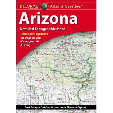 Delorme Arizona Atlas & Gazetteer: 9781946494146