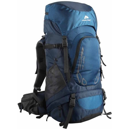 Ozark Trail Hiking Backpack Eagle, 40L Capacity, Blue ()