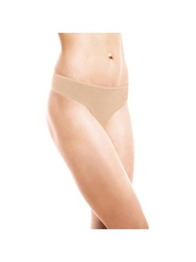 New 2 Pack Women's Basic Cotton Stretch Thong Panties by Secret Treasures