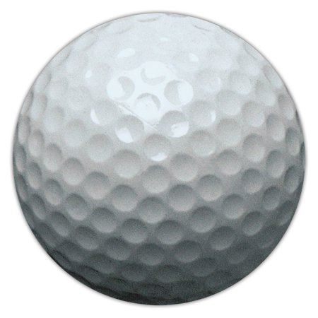 Golf Ball Car Magnet (Golf Ball Shaped Magnet - Car, Truck, SUV, or Refrigerator Magnet -Also Great For Lockers)