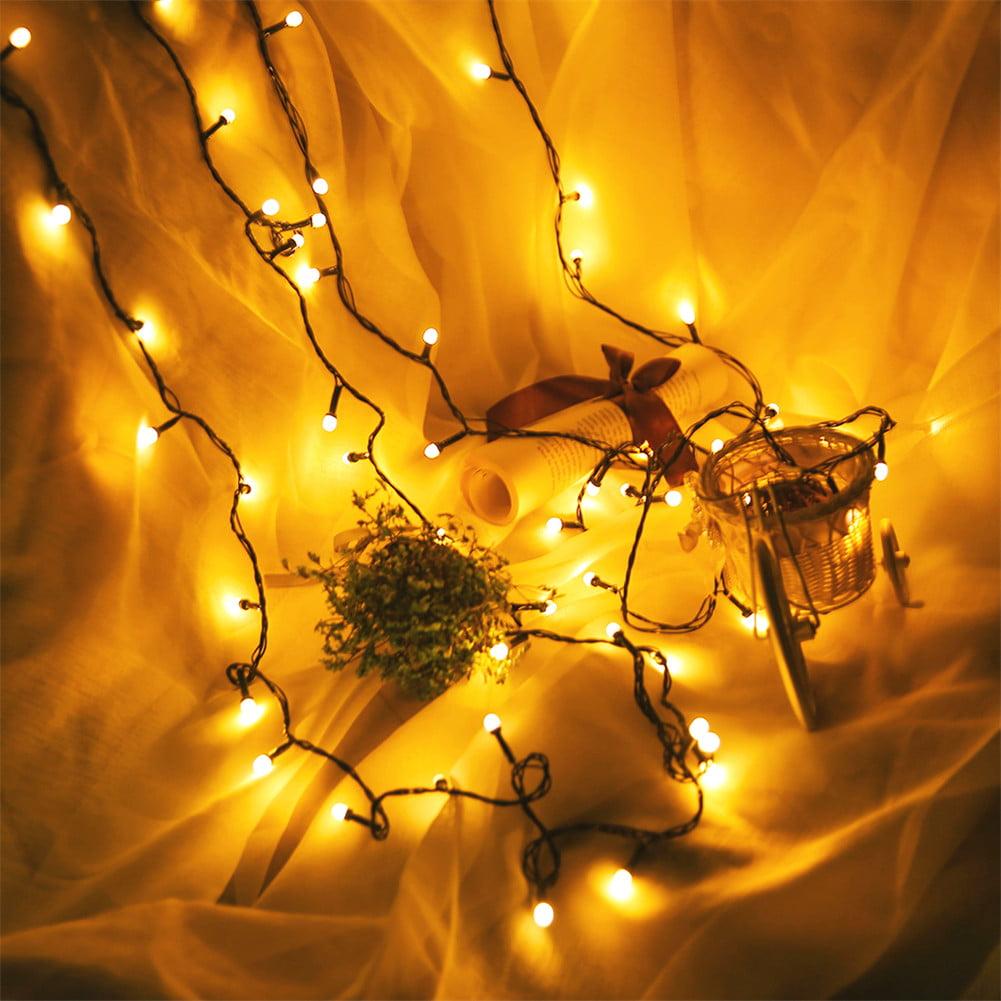 light string, LED multi-function plug light bulb decorative light string