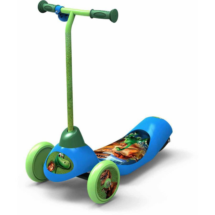 Disney Good Dinosaur Safe Start 3-Wheel Electric Scooter by