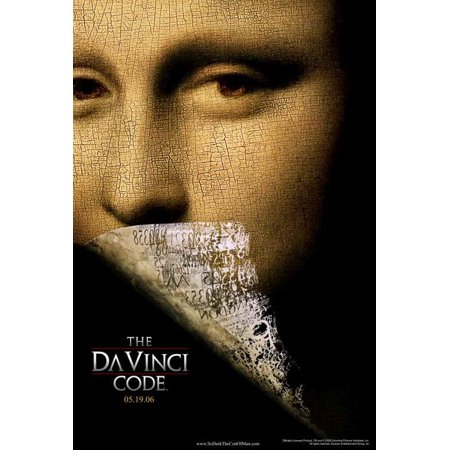 The Da Vinci Code POSTER Movie Mini Promo - The Cute Kid Promo Code