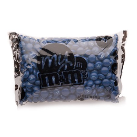 Dark Blue M&M'S® Bulk Candy Bag (1lb)](Bulk Blue Candy)