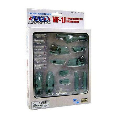 Macross Transformable Series 3 VF-1J Super Weapon Set 1/100 [Hikaru Ichijo]