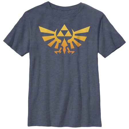 Nintendo Boys' Legend of Zelda Triforce Fade T-Shirt