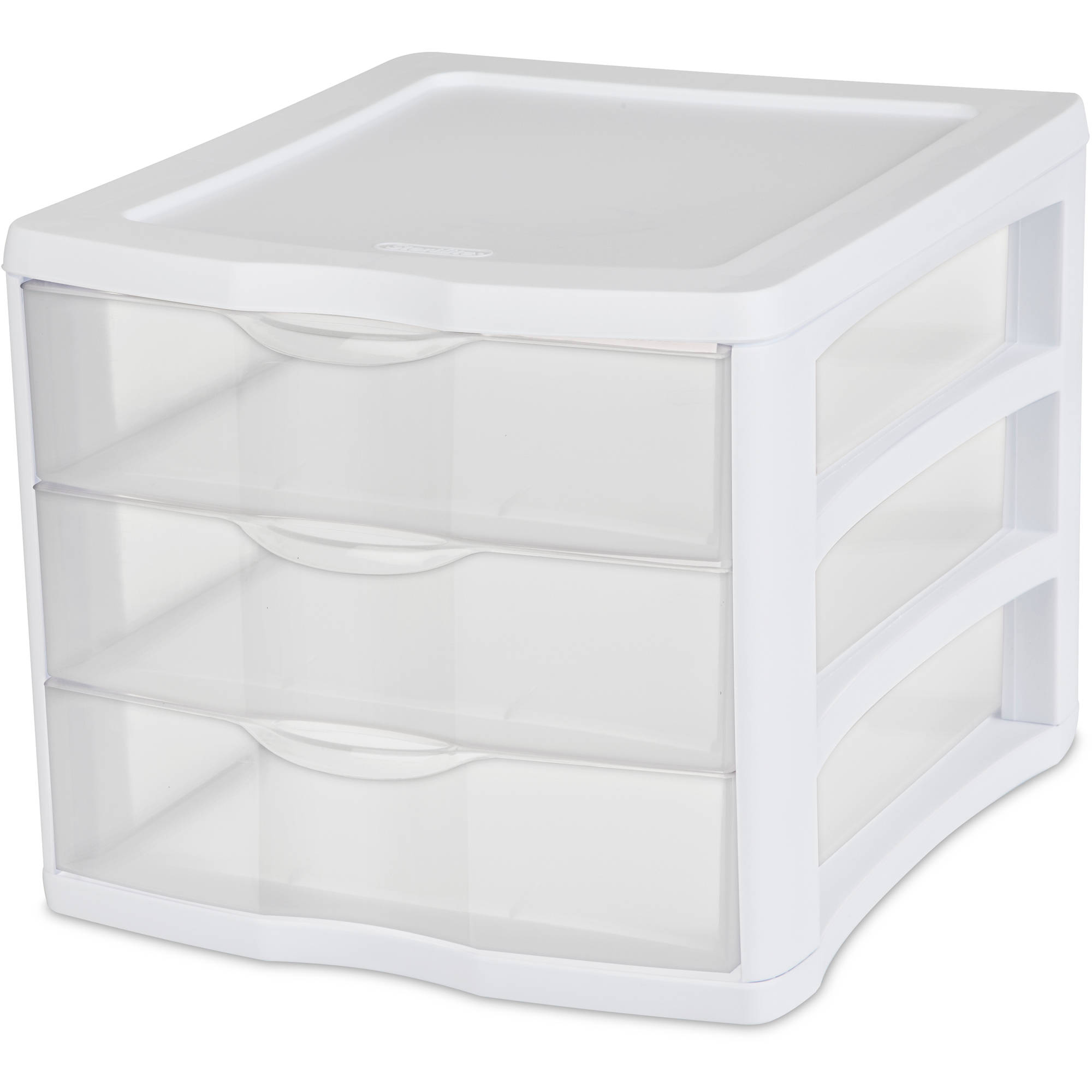 Amazing Sterilite Drawer Organizer White Available In Case Of Or Single Unit With Plastic Desk