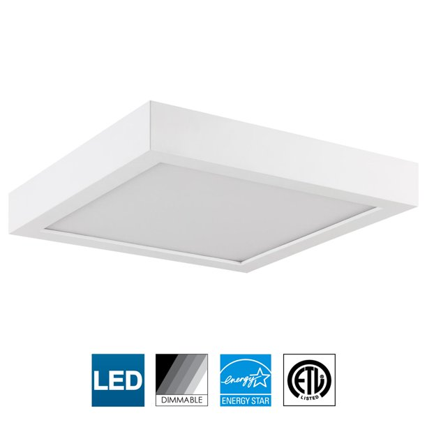 Sunlite Led 9 Inch Square Surface Mount