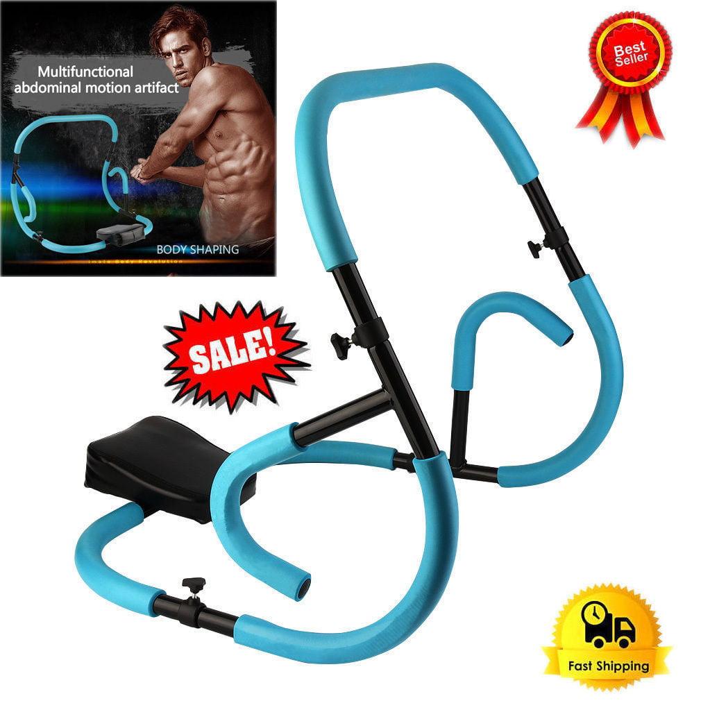 Multifunctional Unisex Women Men Unisex Fitness Equipment Abdominal Exercise Glider Roller Pushup Muscle Trainer by