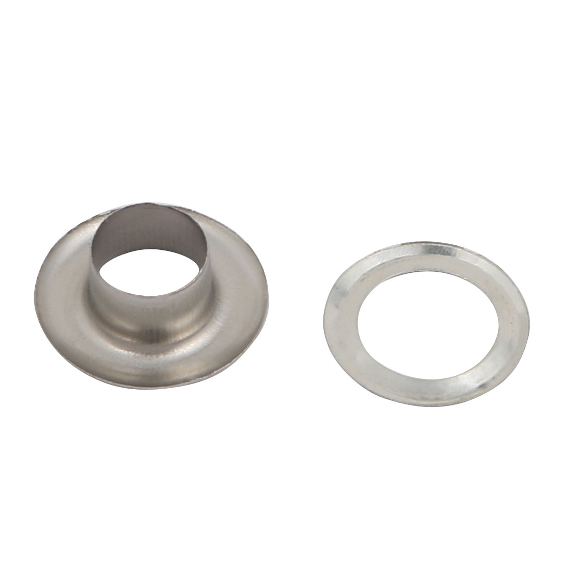 Unique Bargains 1000pcs 6mm 201 Stainless Steel Eyelet Grommets w Washers for Clothes Leather - image 2 of 3