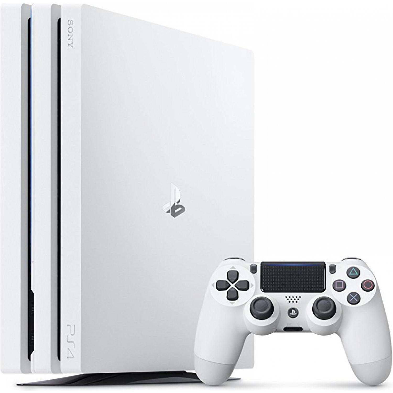 Sony Playstation 4 Pro 1tb Gaming Console Glacier White Cuh 7215b System Walmart Com Walmart Com