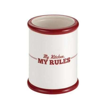 Cake Boss My Kitchen, My Rules Countertop Tool Crock