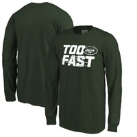 5e7a2ce4b22 Product Image New York Jets Fanatics Branded Youth Too Fast Long Sleeve T- Shirt - Green