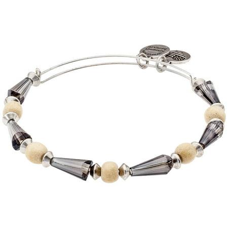 Alex And Ani Cirrus Seeds Of Promise Beaded Bangle Bracelet A15EB30RS Seed Bead Crosses Bracelet