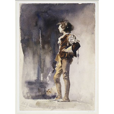 "Boy in Costume Poster Print by John Singer Sargent (American Florence 1856  ""1925 London) (18 x 24)"