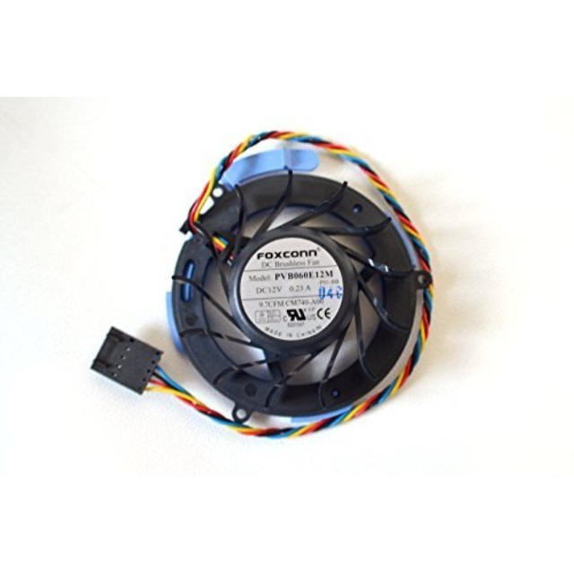 NEW Genuine OEM DELL Optiplex 740 745 755 760 DESKTOP SFF Small Form Factor HD Hard Drive Internal Cool Forcecon Model PVB060E12M 12V 0.5A Cooling NJ793 TJ160 CM740-A00 Fan NY290