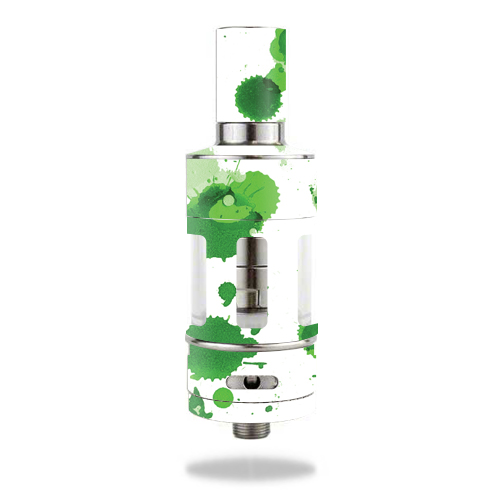 Skin Decal Wrap for Aspire Atlantis mod skins sticker vape Green Drops